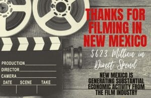 thanks for filming in New Mexico