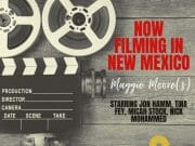 now filming in New Mexico - Maggie Moore(s)