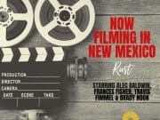 now filming in New Mexico - Rust